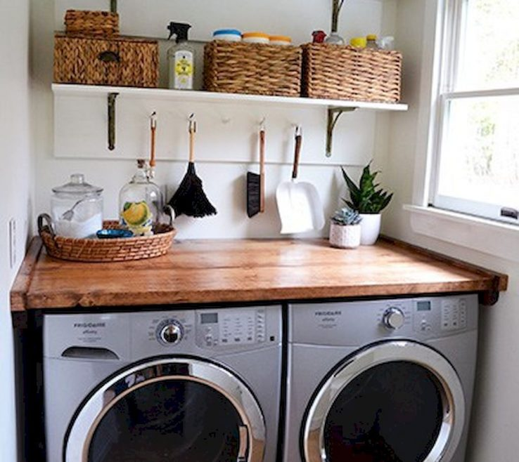 Magnificent Small Laundry Room Design Of Cool Ideas