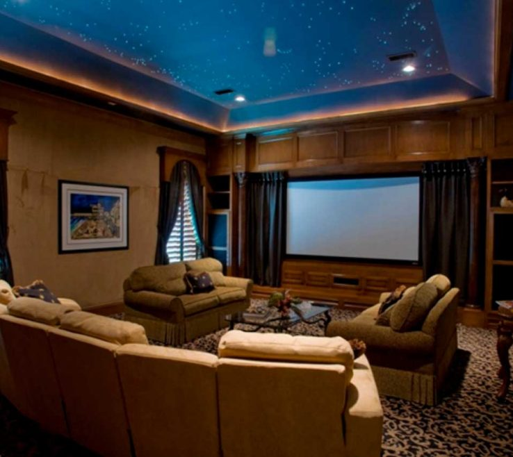 Media Room Colors Of Inspiring Furniture Ideas In Variety Of Designs