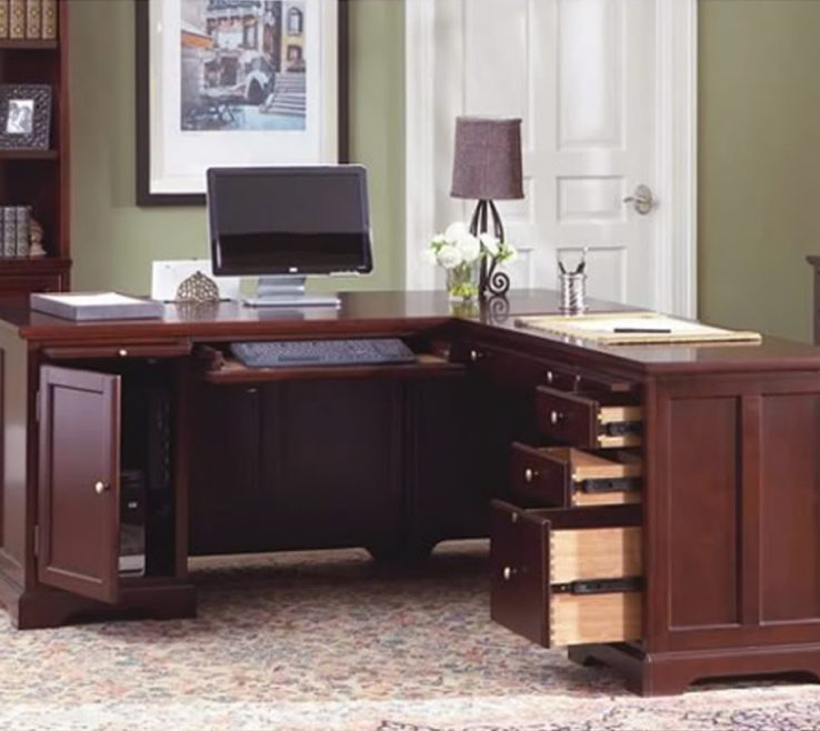 Mesmerizing Home Office Workstation Ideas Of L Shaped