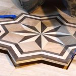 Mesmerizing Inlay Flooring Designs Of Pid Floors Presents Installing A Hardwood Medallion
