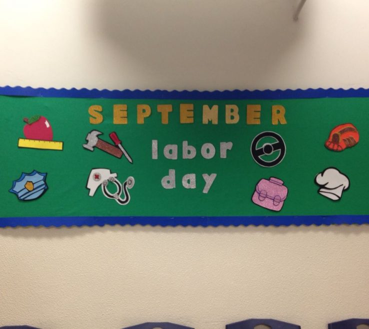 Mesmerizing Labor Day Decorating Ideas Of September Bulletin Board Decorations September Bulletin Boards