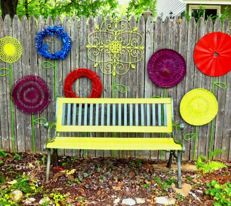 Mesmerizing Yard Wall Ideas Of Creative Fence Good Looking Garden Of Louisville