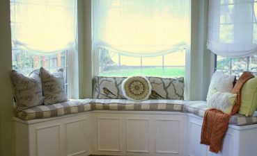 Modern Bay Window Curtains Of Dress Windows Seat Decorating Treatments With Curtain