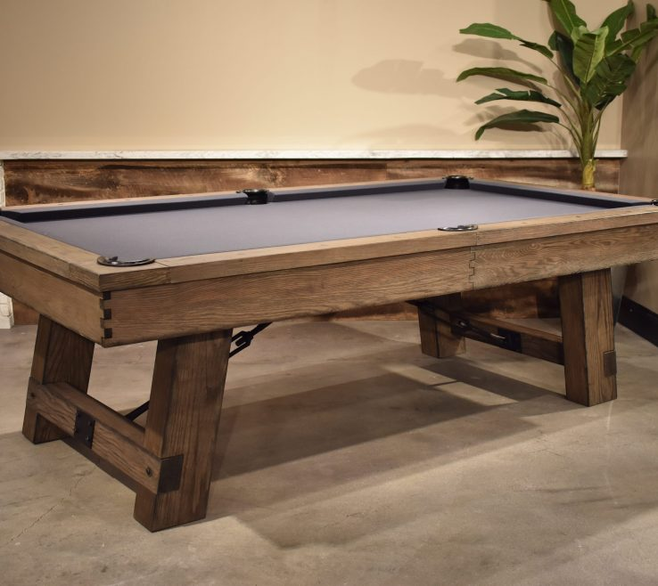 Modern Wood Design Of Reclaimed Pool Table Oak Design Game Tables Modern E Table Billiards Rustic