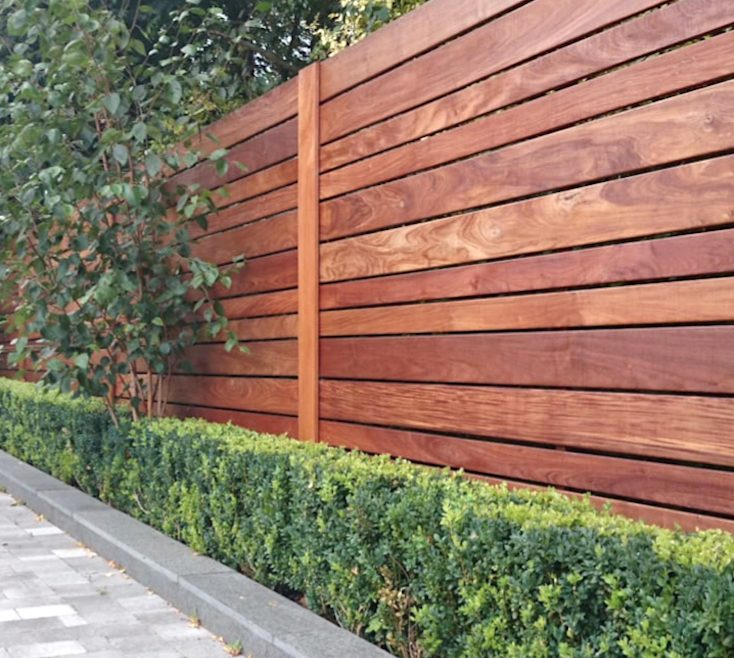 Most Beautiful Fences Of Contemporary Horizontal Wood Fence