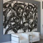 Mural Interior Design Of Wall Living Room Furniture Room Decor Modern