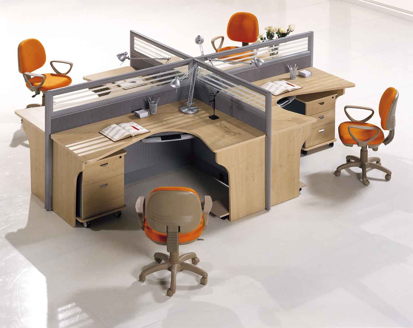 Office Furniture Ideas Layout Of Cubicle Designs Mesmerizing Small Space Decorating Acnn Decor