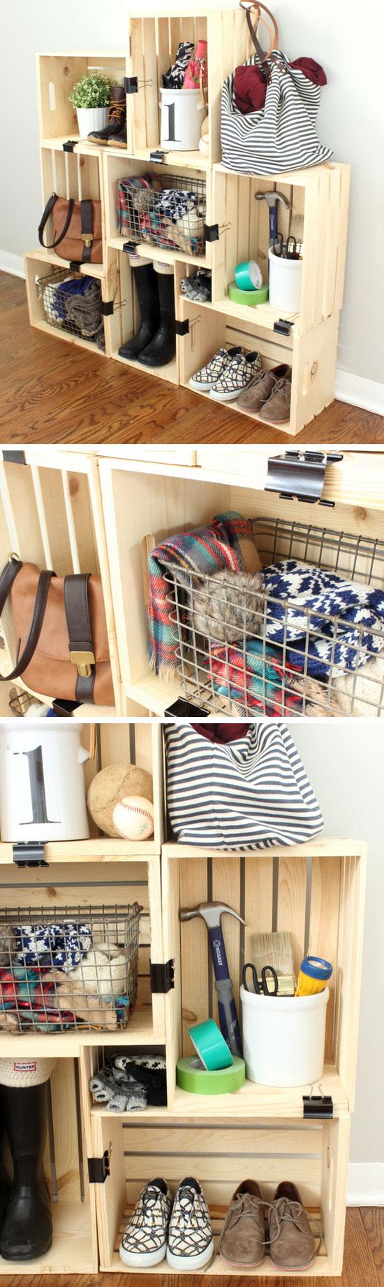 Decorating Small Apartment Closet - Image of Bathroom and Closet