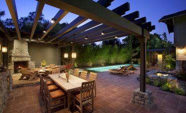 Outdoor Restaurant Patio Designs Of Pool Ideas Cozy