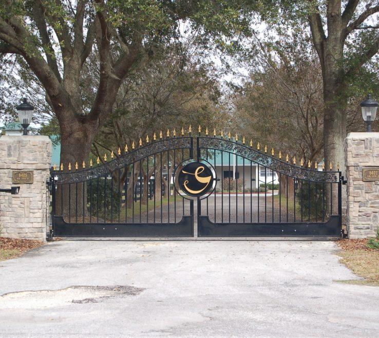 Pictures Of Driveway Entrances