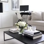 Picturesque Flowers For Coffee Table Of Nordic Decor Ideas Coffe Books Candles