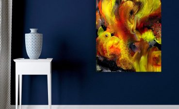 Picturesque Modern Wall Painting Of Canvas Abstract Art For Living Room