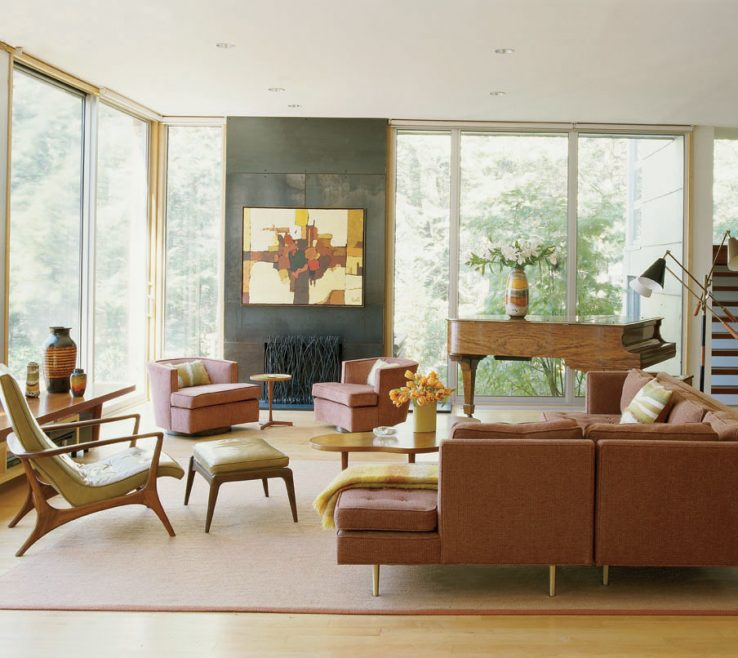 Picturesque Modernist Decor Of Mid Century Modern Interior Design