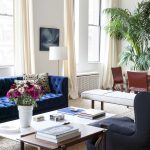 Picturesque Sofa Pictures Living Room Of Eclectic Style With Blue Velvet