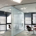Picturesque Wall Glass Design Interior Of Partition For Office Designs