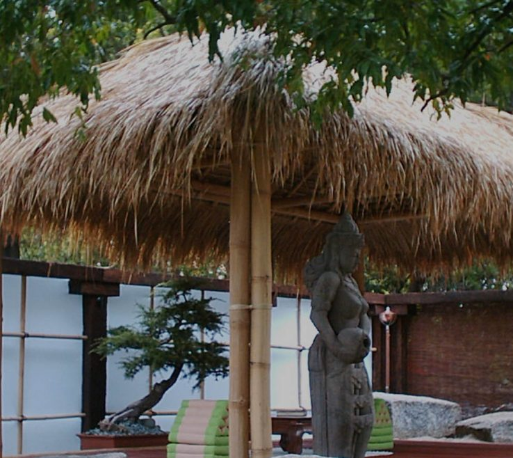 Remarkable Diy Thatched Roof Gazebo Of Stylish Andamp Natural