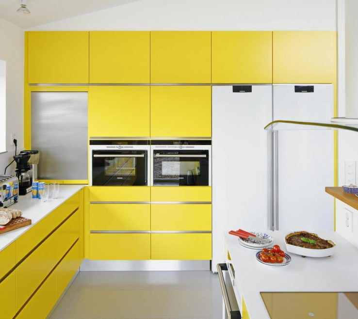 Remarkable Yellow Kitchen Images Of Color Ideas Iwth Built
