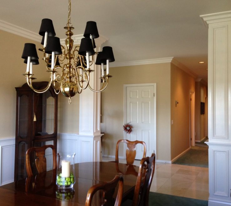 Rooms With Columns Of Satiago Estates In Temecula Dining Room