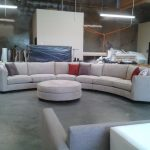 Round Sofa Set Designs Of Curved Sectional Fortable Upholstered Fabric