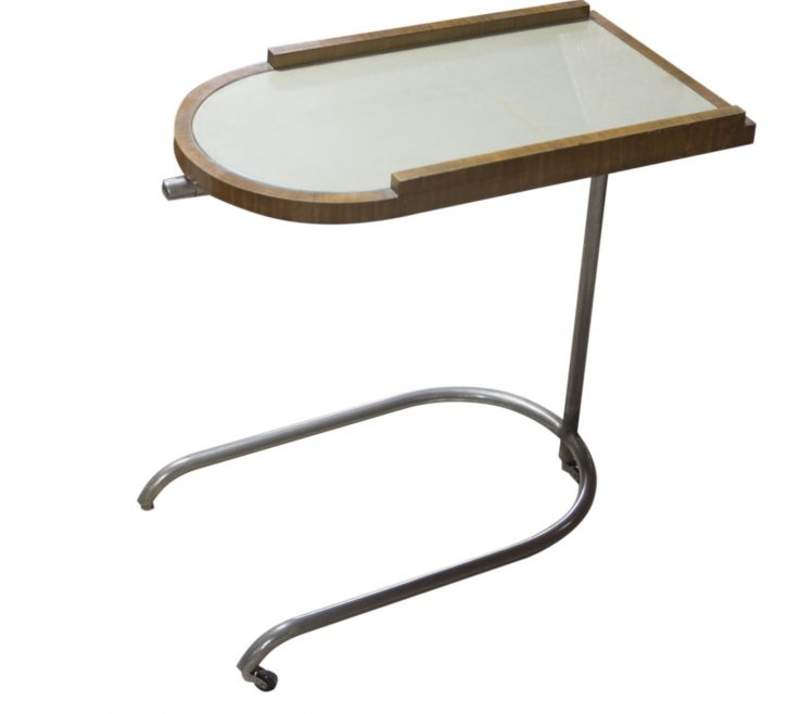 Serving Table On Wheels Of Lightbox