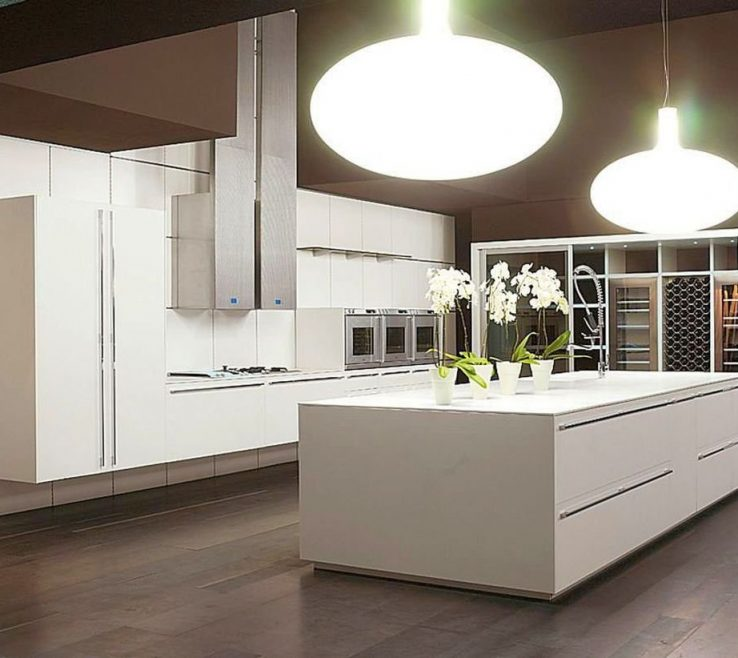 Sleek Kitchen Designs Of Modern Painted Floors Inspiration For Contemporary