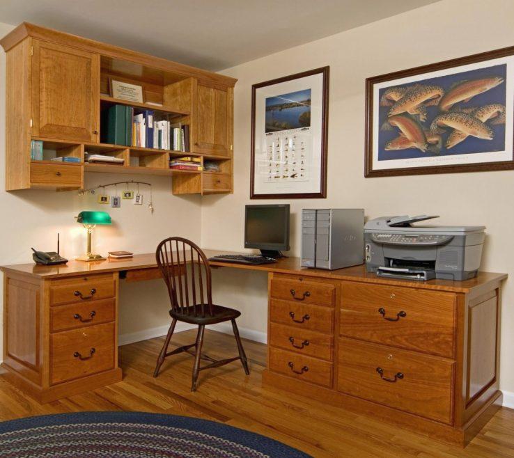 Sophisticated Built In Desks For Home Office Of Chic Your Inspiration Handmade Custom Desk