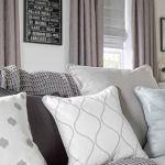 Sophisticated Curtains With Matching Roman Blinds Of Enchant Silver Asina Silver