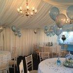 Sophisticated Floor Decoration Plementary And Table Balloon Decorations All Ready