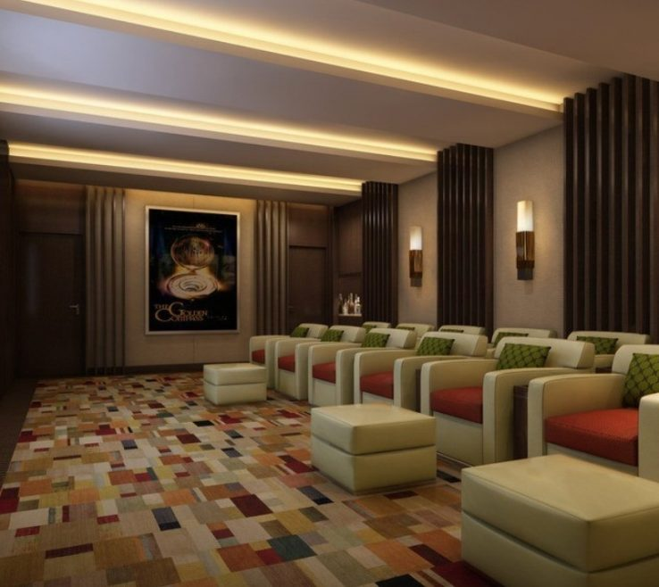 Sophisticated Home Cinema Decorating Ideas Of Related Images With Theatre Design Theater E