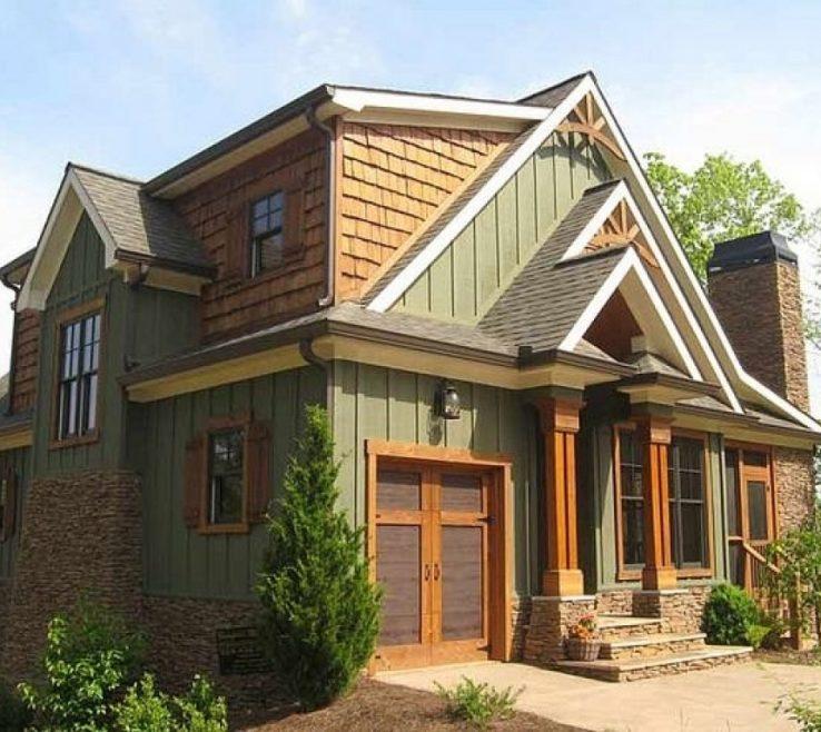 Home Design Ideas Exterior Photos: Sophisticated Home Exterior Design Ideas Of Mountain Paint