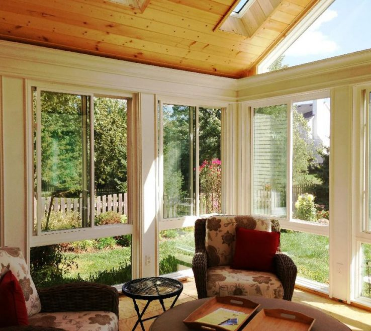 Sophisticated Small Sunrooms Of Sunroom Ideas For Older Homes