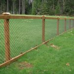 Superbealing Beautiful Wood Fences Of Chain Bined With A Fence Makes