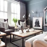 Superbealing Masculine Interior Decorating Of Apartment Makeover Mixes With Feminine Design