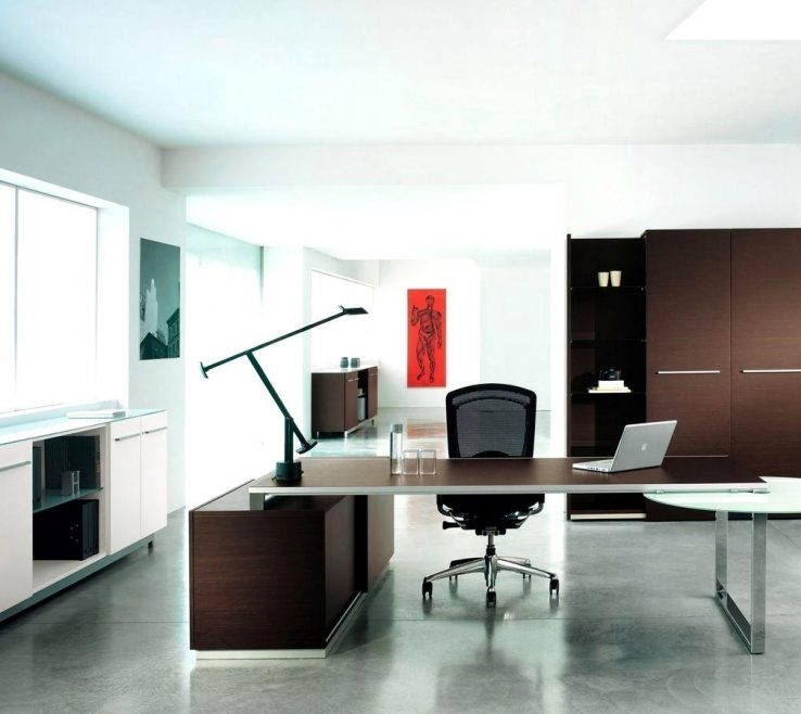 Superbealing Office Design Ideas Of Adorable Executive Elegant Bathroom Leasant Modern Brown