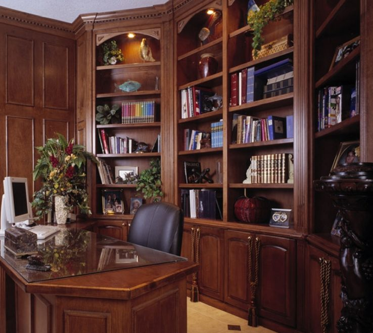 Terrific Built In Office Furniture Of Custom Home Custom Home Photo Of Nifty