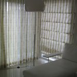 Terrific Curtains With Matching Roman Blinds Of Sheer And Blinds