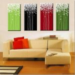 Terrific Modern Wall Painting Of Decorating Acrylic Paintings Decor Inspiration