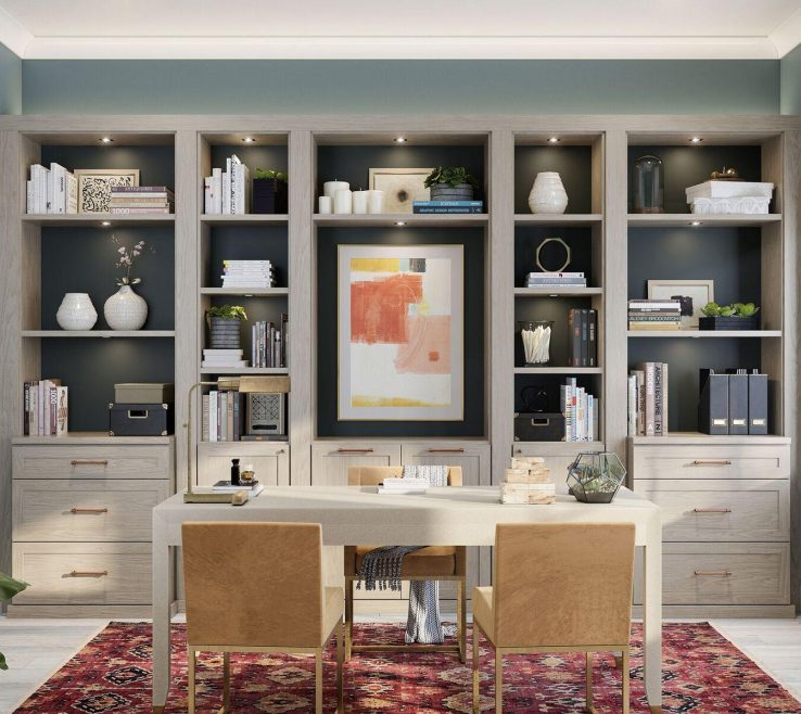 Terrific Office Storage Solutions For Small Spaces Of Haven Home