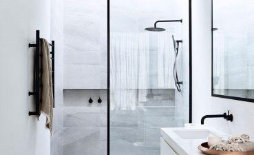 Terrific Trends In Bathroom Tile Of Emily Henderson Design Integrated Shower