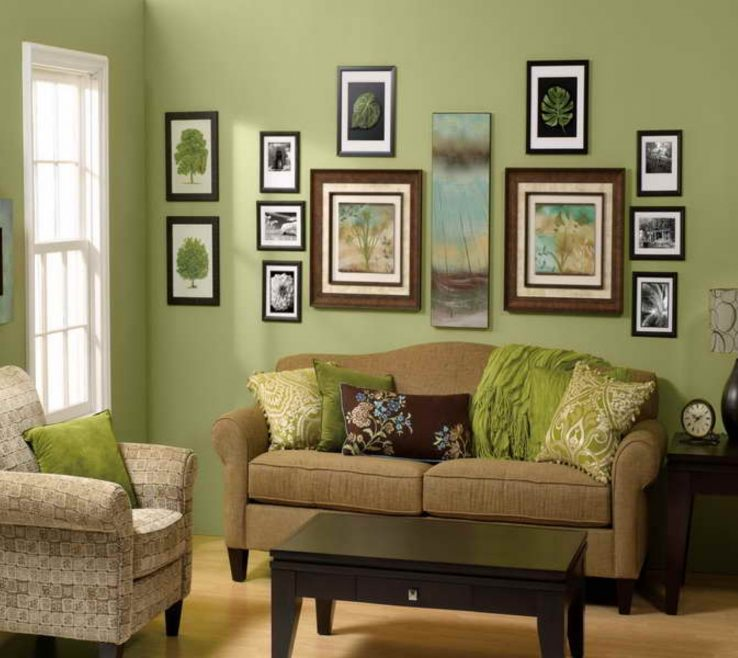 Green And Brown Living Room Decor  from www.acnnhome.com