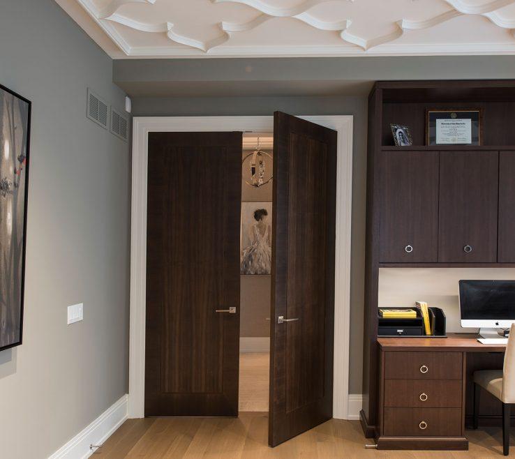 Unique Interior Doors Modern Design Of Library Open Door