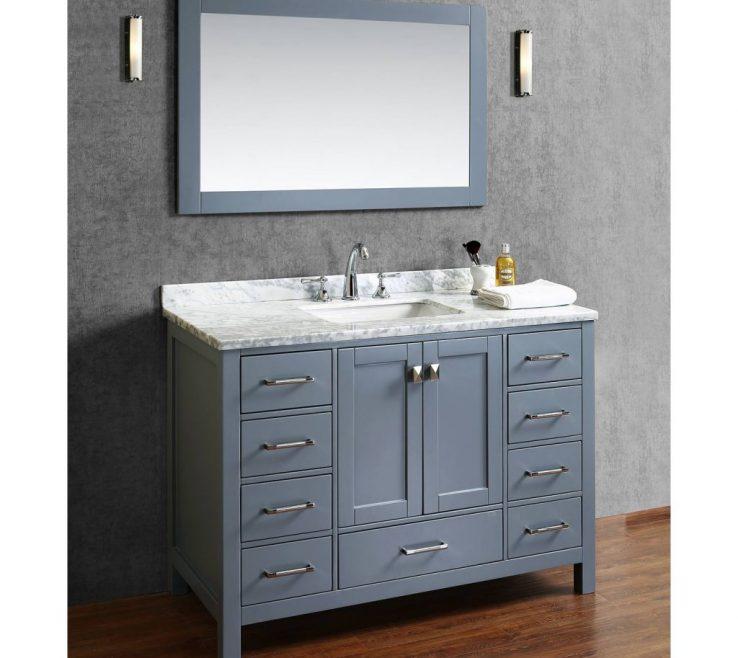 Vanity Bathrooms Of Solid Wood Single Bathroom Vanity Hd