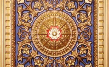 Vanity Blue Ceiling Tiles Of D Pvc TileDrop