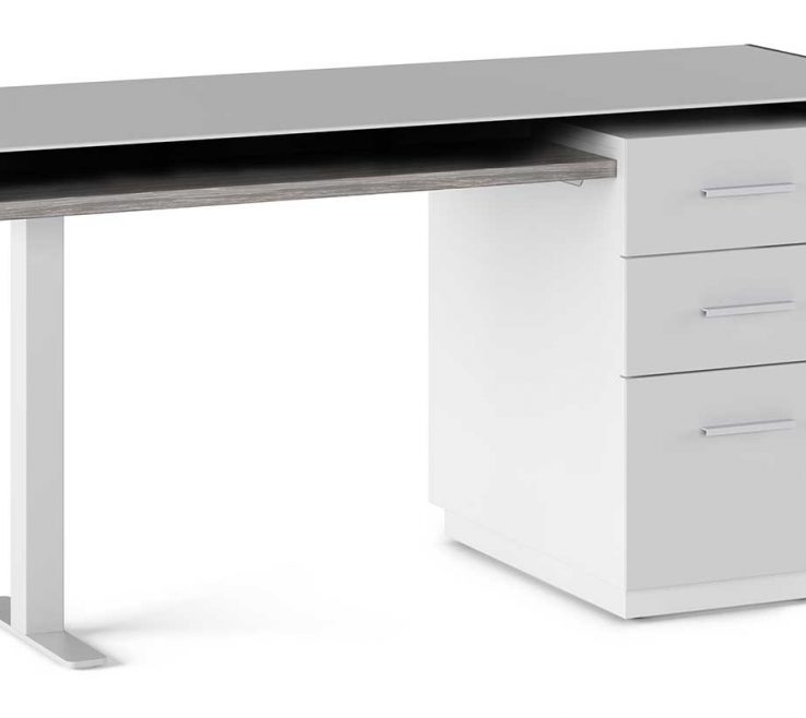 Vanity Contemporary Office Desks For Home Of Duo Desk