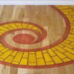 Vanity Inlay Flooring Designs Of Unique Floor