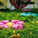 Vanity Painted Garden Stones