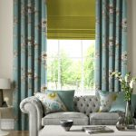 Wonderful Curtains With Matching Roman Blinds Of Impressive Bedroom And Windows