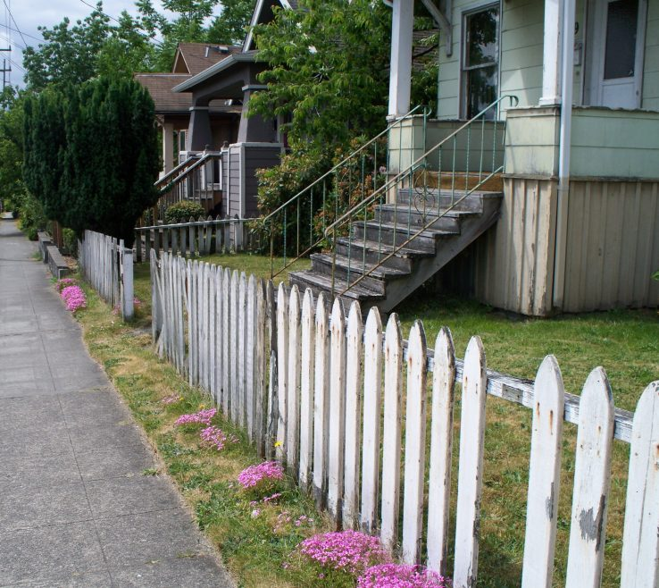 Wonderful Front Yard Fence Designs