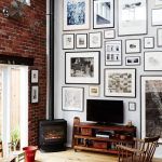 Wonderful Interior Design Walls And Ceiling Of Gallery Wall