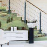 Wonderful Mural Interior Design Of Italian